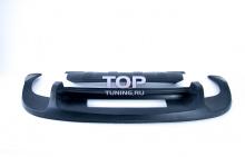 Диффузор заднего бампера - Обвес Je Design - Тюнинг TUAREG 7P