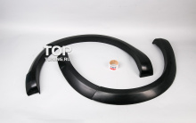 Расширители арок - Модель Je Design - Тюнинг Фольксваген Туарег 2 (7Р, дорестайлинг 2010,2014)