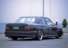 Тюнинг Мерседес  Е-Класс W124 (рестайлинг, дорестайлинг) - Накладки на пороги WALD.