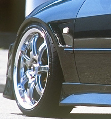 Пороги Vertex для Toyota Altezza / Lexus IS200.