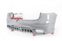 Купить Задний бампер WALD Black Bison на Mercedes ML 166