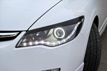Тюнинг Хонда Сивик 4Д (Седан) - Реснички Sports Line.