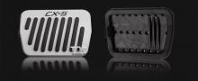Тюнинг салона Мазда СХ-5 - Накладки на педали для автоматической коробки передач Epic 4 Colors.