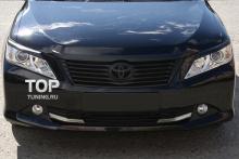 Тюнинг Тойота Камри (V50) - Реснички на переднюю оптику GT-R.