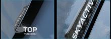 Защитная накладка на двери для автомобилей Mazda.