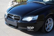 Тюнинг Субару Легаси - Накладки на переднюю оптику RX.