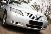 Тюнинг Тойота Камри V40 - Накладки на переднюю оптику FX.