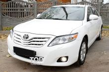 Тюнинг оптики - Реснички FX на Toyota Camry V40 (Рестайлинг).