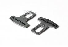 Универсальные обманки ремня безопасности AMG Style (комплект 2шт).