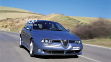Тюнинг Альфа Ромео 156 (дорестайлинг) - Аэродинамический обвес Cadamuro GTA.