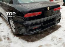 5765 Задний бампер Cadamuro GTA на Alfa Romeo 156