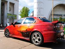 Тюнинг Альфа Ромео 156 (дорестайлинг, седан) - Передний бампер Cadamuro GTA.
