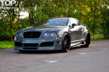 Тюнинг Bentley Continental GT (1 поколение) -  Передний бампер БЕЗ РАСШИРЕНИЯ Premier4509.