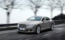 Тюнинг Bentley Continental GT (1 поколение) -  Штатный капот.