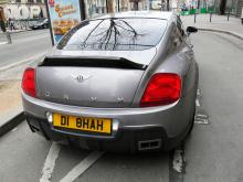 Тюнинг Bentley Continental GT (1 поколение) -  Спойлер крышки багажника ONYX.