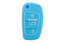 В магазине Top-Tuning силиконовые чехлы для ключей Ауди представлены в нескольких цветовых гаммах