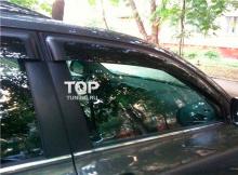 5783 Дефлекторы окон оригинальные тонированные на Toyota Highlander XU40