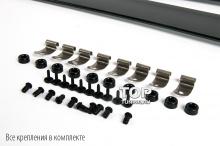 5784 Дефлекторы окон оригинальные тонированные на Ford Focus 2
