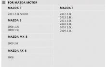 Стильные аксессуары для автомобилей Mazda - Чехол из натуральной кожи Lucky NEW.