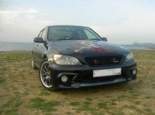 Передний бампер из комплекта обвеса TRD / JDM (new) для Toyota Altezza / Lexus IS200.