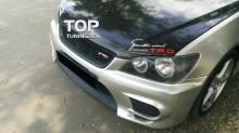 Передний бампер - Модель TRD / JDM (new) - Тюнинг Toyota Altezza / Lexus IS200