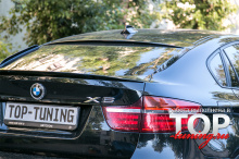 5809 Спойлер на крышку багажника на BMW X6 E71