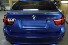 Спойлер на крышку багажника на BMW X6 E71