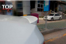 5814 Спойлер на крышку багажника на Hyundai Sonata 6 (YF)