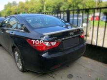 Спойлер на крышку багажника для Hyundai Sonata Sedan (2011+)