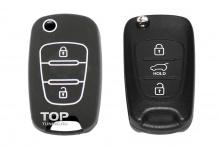 Силиконовый чехол Model 1 для ключа Kia, Hyundai