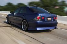 Накладка на задний бампер - Обвес Эликсир - Тюнинг Тойота Алтезза / Лексус ИС200.