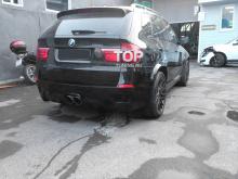 Тюнинг БМВ Х5 (Е70) - Задний бампер Exclusive.