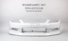 Передний бампер - Модель C-West - Тюнинг Toyota Altezza / Lexus IS200