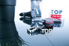 Стильные аксессуары для автомобилей Мерседес - Кожаный чехол Luckу.