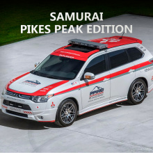 Тюнинг Митсубиси Аутлендер 3 - Аэродинамический обвес Samurai Pikes Peak Edition.Тюнинг Митсубиси Аутлендер 3 - Аэродинамический обвес Samurai Pikes Peak Edition.