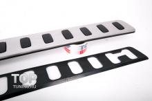 Защита на задний бампер для Тойота Лэнд Крузер 200 и Lexus LX570