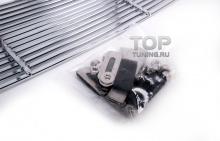 Хром в решетку радиатора + решетка в передний бампер - Тюнинг Ниссан Кашкай 1