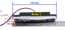 Универсальные светодиодные дневные ходовые огни. Размер 155 х 15 мм.