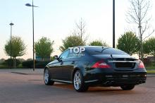 Задний бампер - Обвес AMG - Тюнинг Мерседес W219 (Рестайлинг, дорестайлинг).