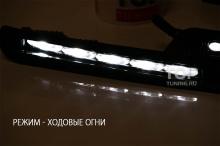 Светодиодные дневные ходовые огни с функцией приглушения света - Тюнинг Лексус ЛХ570.