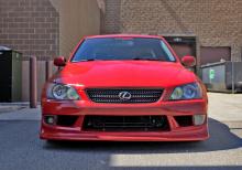 Обвес Vertex на Toyota Altezza / Lexus is200 выпуск с 1998 по 2005 год.