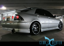 Накладка на задний бампер Vertex, тюнинг Toyota Altezza / Lexus IS200.