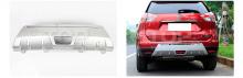Комплект TECH Design Avenger - Накладка на задний бампер с хромированными элементами - Тюнинг Nissan X-Trail T32