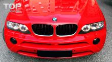 6053 Передний бампер Aero Type II на BMW X5 E53