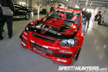 Передний бампер Обвес HKS - Тюнинг Toyota Altezza / Lexus IS200-300