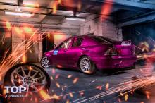 Расширение кузова - Обвес Wide Body Clinched - Тюнинг Stance Тойота Алтезза / Лексус IS200 Материал: ABS пластик.