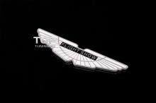 НАКЛЕЙКА-ЭМБЛЕМА FLIGHT SHOW - Алюминий на самоклеящейся основе Размер 100 X 25 mm