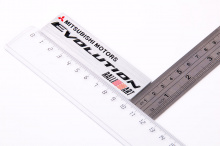 6100 Эмблема наклейка RALLIART Evolution на Mitsubishi