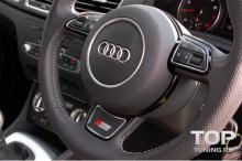 6105 Эмблема в руль S-Line на Audi