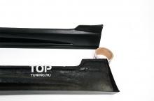 Накладки на пороги - Обвес My Ride Interceptor - Тюнинг Шевролет Круз 2 (Дорестайлинг 2008-2012)